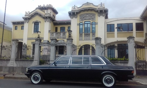Costa Rica Limo Casa Jimnez Art Nouveau style building