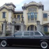 Casa-Jimenez-Art-Nouveau-style-building-costa-rica-limousine-MERCEDES-300D-LANG